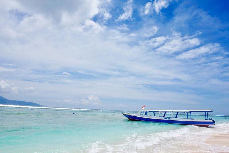 Gili Trawangan salah satu tempat snorkeling eksotis di Lombok, sumber ig @everydaycae