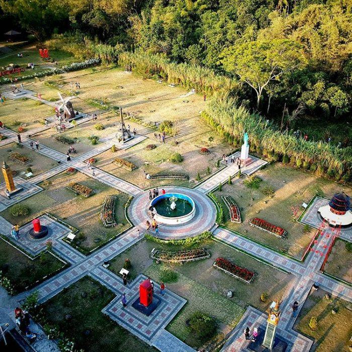 Merapi Park Yogyakarta dari atas, sumber ig @jogja_mlaku_mlaku