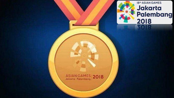 Medali unik asian games 2018 jakarta palembang
